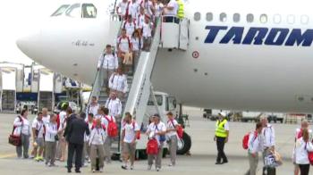 Primire superba pentru romanii medaliati la Jocurile Europene. Cum au fost asteptati la aeroport