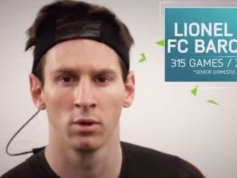 Niciodata in FIFA nu ai putut sa driblezi asa! Messi aduce in noul FIFA 16 cea mai tare schema a momentului. SUPER VIDEO