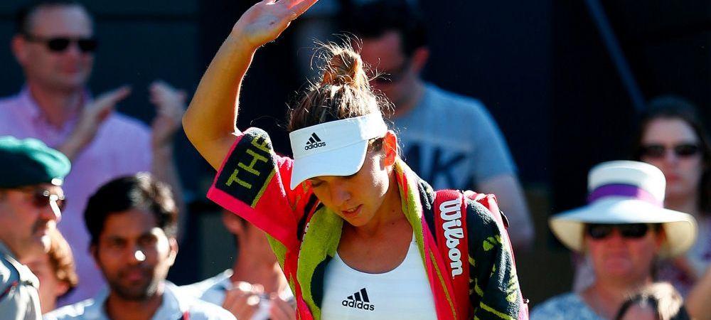 CEL MAI NEGRU SCENARIU pentru Simona Halep! Cate locuri poate pica dupa dezastrul de la Wimbledon