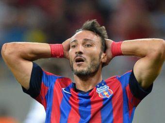 Sansa nesperata pentru Steaua: Ultimul atacant al Stelei din Champions League poate sa REVINA in aceasta vara. E liber de contract
