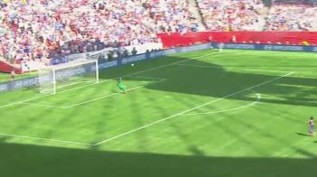 VIDEO Golul lui Hagi de la mijlocul terenului, tras la indigo in finala Cupei Mondiale la fete! SUA este regina lumii la fotbal