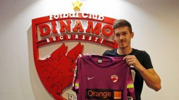 Ultimul transfer reusit astazi de Dinamo! Portarul adus de Dinu Gheorghe pentru noul sezon