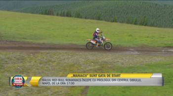 """MANIACII"" Sunt gata de start! Ce ii asteapta la Raliul Red Bull Romaniacs"