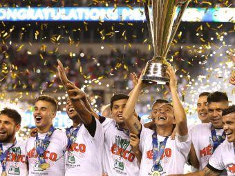 VIDEO & FOTO   Mexic, campioana Gold Cup 2015, dupa o finala nebuna cu Jamaica, disputata in fata a 70 de mii de oameni