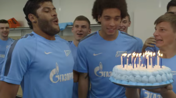 """Hulk, hai sa sufli in lumanari"". Brazilianul lui Zenit, inca un clip viral pe internet! Ce se intampla in faza imediat urmatoare :)"
