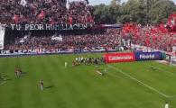N-ai vazut asa ceva pe stadion! NEBUNIE in Argentina. Ce s-a intamplat in tribune la derby-ul Newell's - Rosario Central