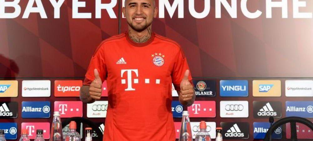 Tatal lui Vidal a fost ARESTAT pentru posesie de droguri! A urmarit prezentarea fiului sau la Bayern in spatele gratiilor