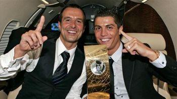Cristiano Ronaldo, nasul celui mai puternic impresar din lume! Ce cadou FABULOS de nunta ii face lui Jorge Mendes! VIDEO