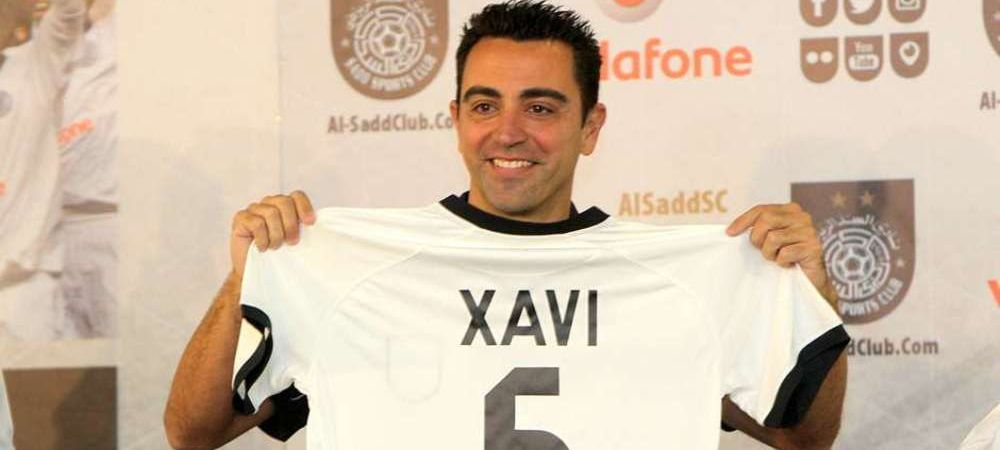 GOL SUPERB marcat de Xavi la debutul sau in Qatar! Cum a marcat la primul meci pentru Al Sadd. VIDEO