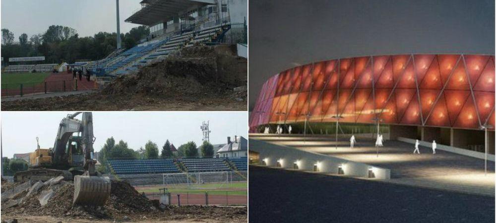 FOTO | Au inceput lucrarile la o noua arena de 5 stele in Romania! Cum va arata si la cat se ridica investitia