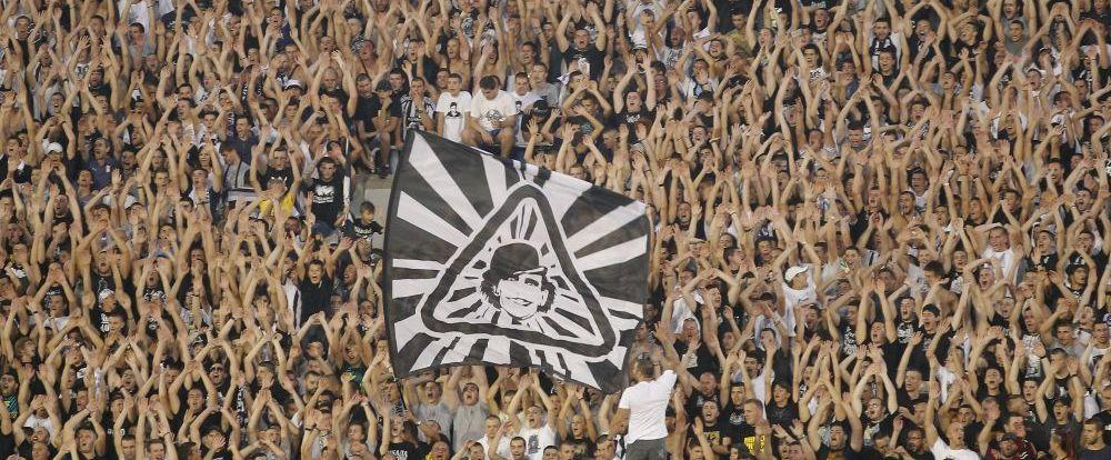 """""""Asta spune multe despre ce fel de echipa am eliminat! Am ucide pentru acesti fani"""" Mesajul lui Partizan pentru Steaua la finalul meciului"""