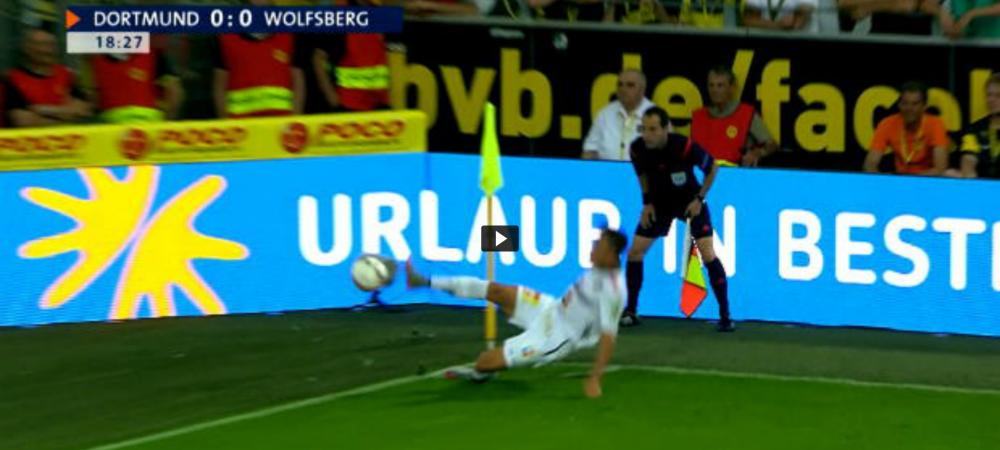EPIC FAIL   Umiliti de Borussia in Germania, austriecii de la Wolfsberger n-au mai putut nici sa nimereasca mingea. Ce a facut un jucator la un corner