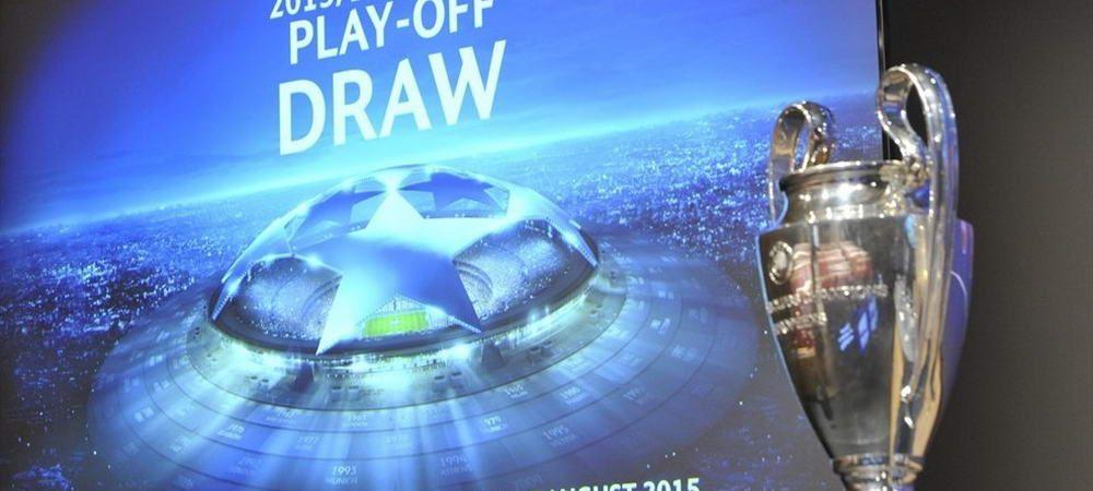 Tragere la sorti Champions League: Partizan - BATE Borisov! Manchester United - Brugge; Sahtior - Rapid Viena; Valencia - Monaco