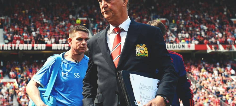 Van Gaal a facut SHOW de ziua lui in fata jurnalistilor! Ce a cantat dupa Man United - Tottenham
