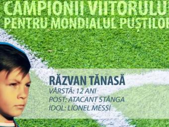 Constelatia celor 12 | Are 12 ani si si-a petrecut jumatate din viata pe terenul de fotbal. Pustiul roman care se inspira de la Messi pentru a face Romania MARE