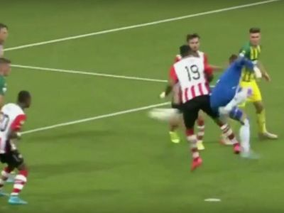 FABULOS! MAGNIFIC! Asa ceva nu s-a mai vazut pana acum! Un portar a dat gol in minutul 95 cu calcaiul si si-a salvat echipa!