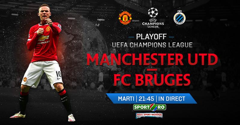 SOC pentru Van Gaal inaintea meciului din weekend! De Gea i-a cerut sa NU joace! Man United - FC Brugge, marti ora 21.45, in direct la Sport.ro!
