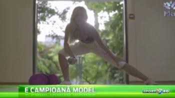 E rivala Anei Maria Branza la scrima, dar poate da lovitura la...Miss! O israelianca de 18 ani vrea o medalie olimpica la Rio, dar si titlul Miss Universe