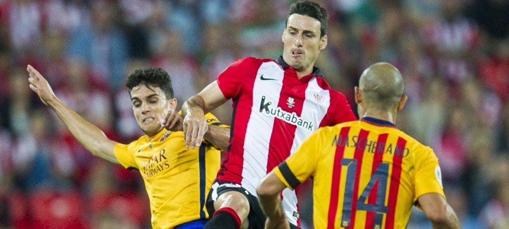 Performanta incredibila stabilita de Aduriz, omul care a ingropat Barcelona cu un hatrrick in 15 minute