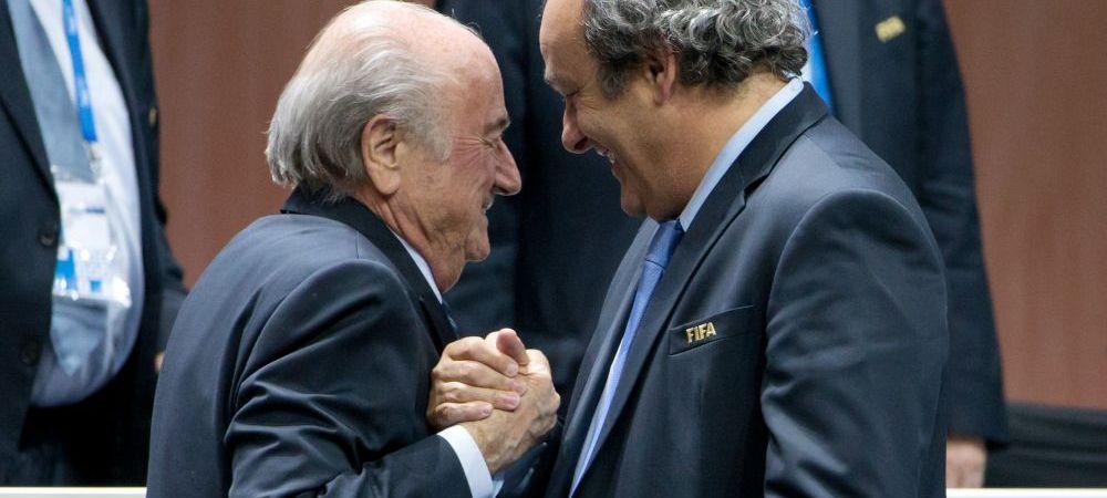 """Blatter face dezvaluiri soc: """"Platini m-a amenintat cu PUSCARIA"""". Seful FIFA vorbeste despre motivele demisiei de la sefia fotbalului"""
