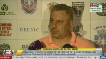 """Sumi si teoria conspiratiei: Astra e lider, dar """"Universul lucreaza"""" pentru excluderea din Europa League: """"N-avem nicio sansa cu AZ"""""""
