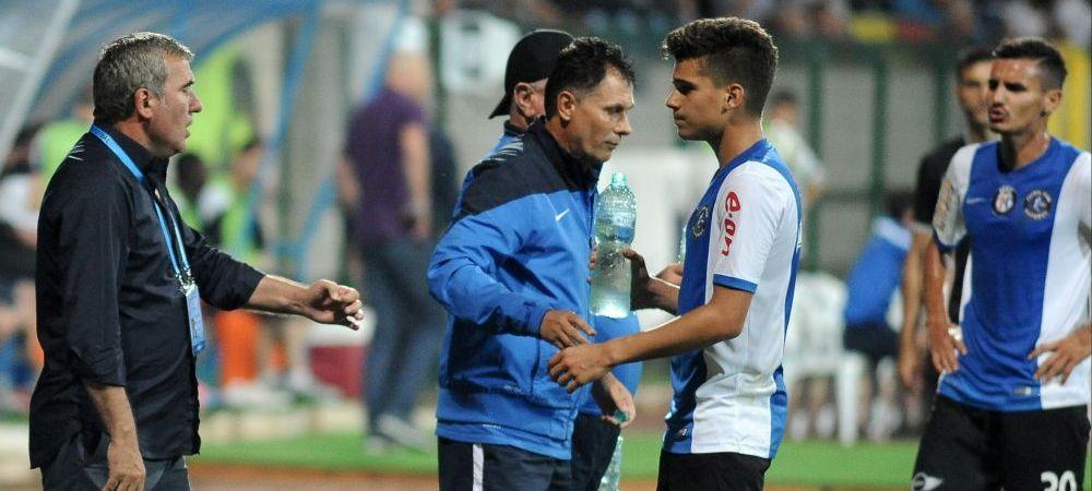 """""""Sper ca anul viitor sa joace la nationala mare"""" Hagi a dezvaluit ce se intampla cu Ianis dupa ce a ratat penalty cu Concordia"""