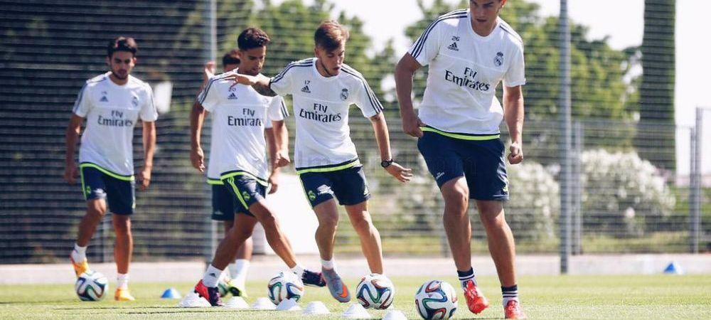CAZ FABULOS! Real Madrid a dat afara un jucator pentru ca a venit cu 18 kg in plus la reunire. Reactia fotbalistului