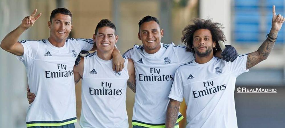 Decizie neasteptata luata de Real Madrid cu jucatorul de 80 de milioane! Ce se intampla cu James Rodriguez