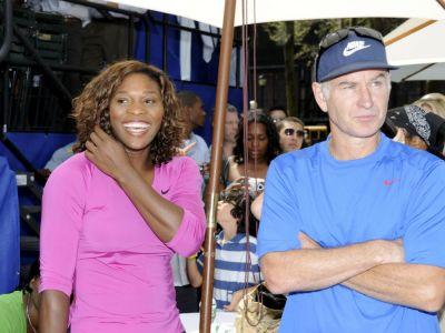 "John McEnroe, la 56 de ani: ""O bat si acum pe Serena Williams, n-are nicio sansa in fata unui barbat!"" VIDEO"