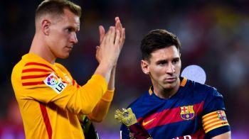 VIDEO | Asta e parada sezonului trecut! Ter Stegen, portarul Barcei, desemnat castigator de UEFA. Faza pe care 1 din 1.000 de portari o scoate