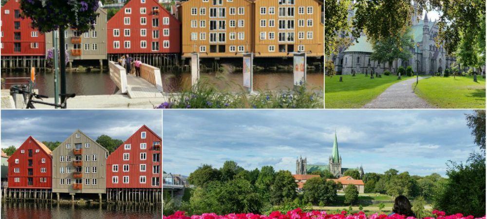 Cum arata PARADISUL in care stelistii vor sa produca marea minune. Trondheim, orasul in care oamenii se plimba cu taxi-uri TESLA si yachturi