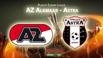 Eroi pana in minutul 80, distrusi in trei minute! Ce drama in Olanda: Astra, eliminata dupa 0-2 cu AZ! Silviu Lung a comis-o grav!