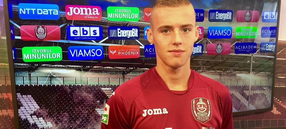 CFR a transferat un jucator din liga a PATRA! Ce mijlocas francez au legitimat azi clujenii