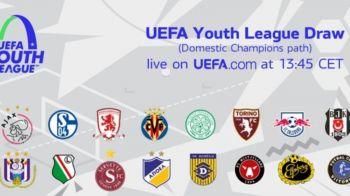Primul test pentru pustii lui Hagi in Champions League: Cu cine a picat Viitorul in primul tur UEFA Youth League!