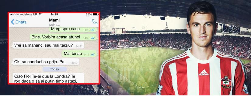 Foarte, foarte tare! Si nu e Photoshop! Gardos a pus pe net discutia cu mama lui de pe Whatsapp! Vezi ce-a urmat :)