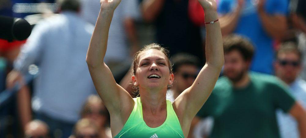 """""""Este pentru prima data cand mi se intampla asta!"""" Reactia surprinzatoare a Simonei Halep dupa debutul la US Open"""