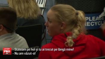 """VIDEO   Cea mai """"grea"""" adversara pentru Simona Halep pana in finala de la US Open, faza nebuna in America. Wozniacki a intrat peste Isner la conferinta de presa :)"""