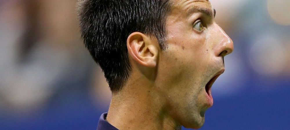 Scene senzationale cu Djokovic la US Open. Ce a facut cu un fan pe teren dupa victoria din turul 2