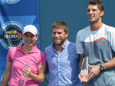 Intre US Open si casatorie   Povestea romanului surpriza de la turneul american: a pierdut in primul tur, dar a castigat o...sotie :)