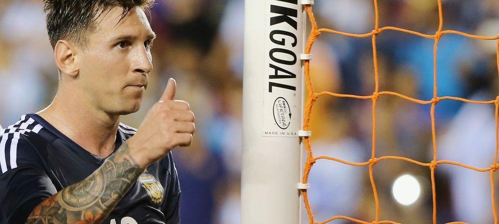 Pentru Messi, asta e o executie la 50 de goluri. Cum a reusit sa marcheze in Argentina 7-0 Bolivia. VIDEO