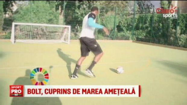 """VIDEO   Usain Bolt, ca Mutu :) Jamaicanul a facut si el celebra """"dizzy challange"""". Vezi ce a iesit"""