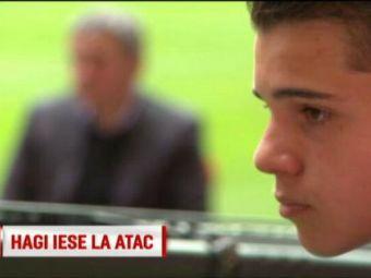 """Raspunsul selectionerului de la U21 dupa ce Hagi s-a luat de el: """"Tu te uiti macar la meciuri? Cum sa nu-l convoci pe Ianis?"""
