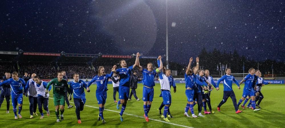 VIDEO Nebunie la Reykjavik! Islanda, cea mai mica tara din istorie care merge la EURO! Mii de oameni au petrecut pe strazi