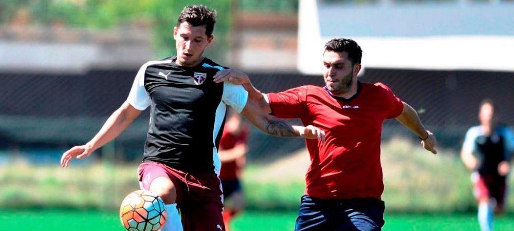 """""""Hungry for glory"""" :) Mihai Costea, OFICIAL la Voluntari! Fostul atacant al Stelei a semnat pe un sezon"""