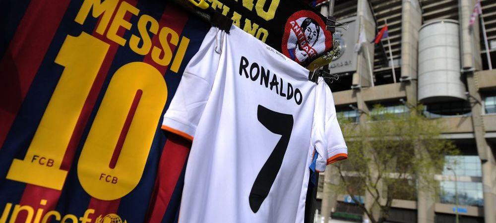 Asa arata liga fotbalistilor din Spania care castiga impreuna peste 100 mil euro pe an. Messi si Cristiano Ronaldo domina TOP 10
