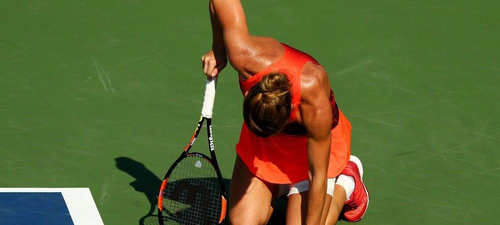 Scandal la US Open dupa meciul Simonei Halep. De ce s-a enervat Wawrinka
