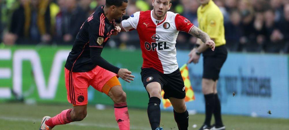 Lovitura de rasunet data de o nou-promovata. Voluntariul a luat un jucator crescut de Ajax, dar care a dat goluri pentru NEC si Feyenoord