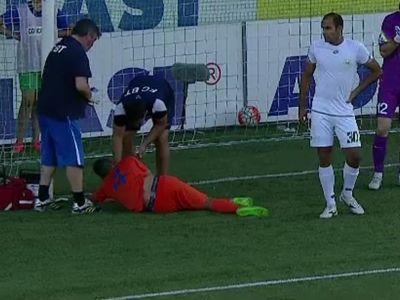 """Momente de groaza in Cupa Ligii! Miron de la Botosani s-a accidentat grav: """"Am chemat imediat salvarea!"""" A jucat doua meciuri in mai putin de 24 de ore"""