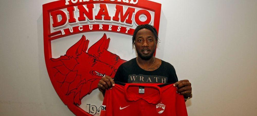 """OFICIAL! Dinamo a mai facut un transfer! Al patrulea camerunez din lotul lui Rednic: """"Sa fiti siguri ca e un transfer bun"""""""