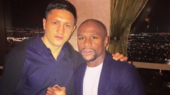 "Ronald ""The Thrill"" Gavril, victorie in gala in care s-a batut si Floyd Mayweather. Ce a facut romanul promovat de supercampionul american"